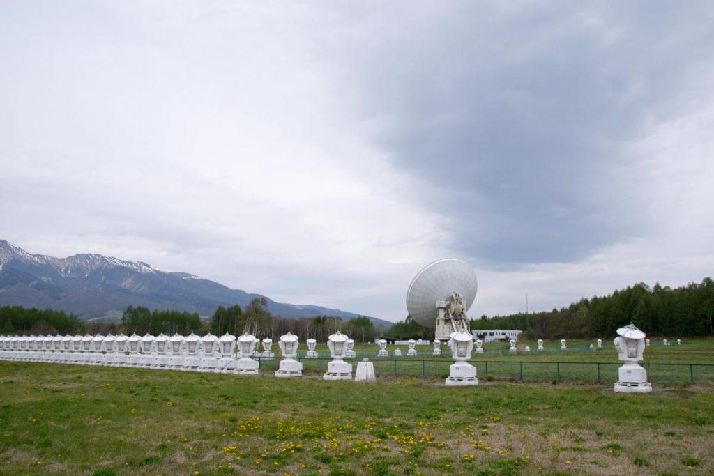 野辺山宇宙電波観測所 電波ヘリオグラフ
