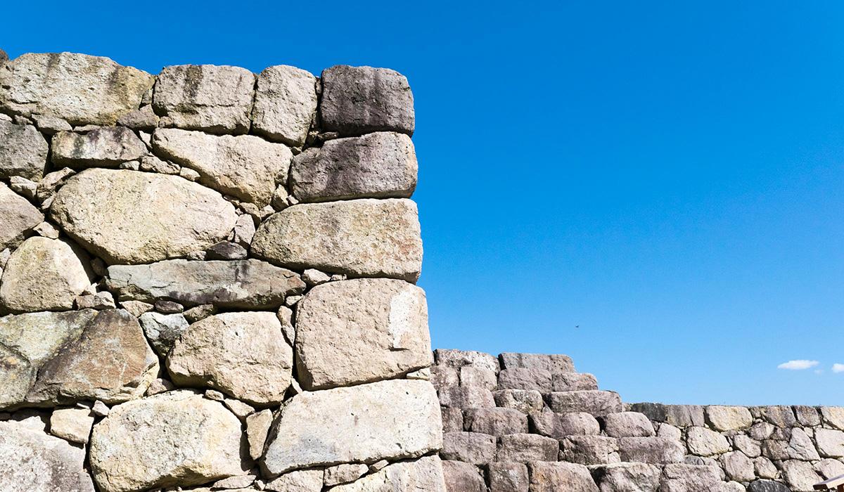 松代城の石垣
