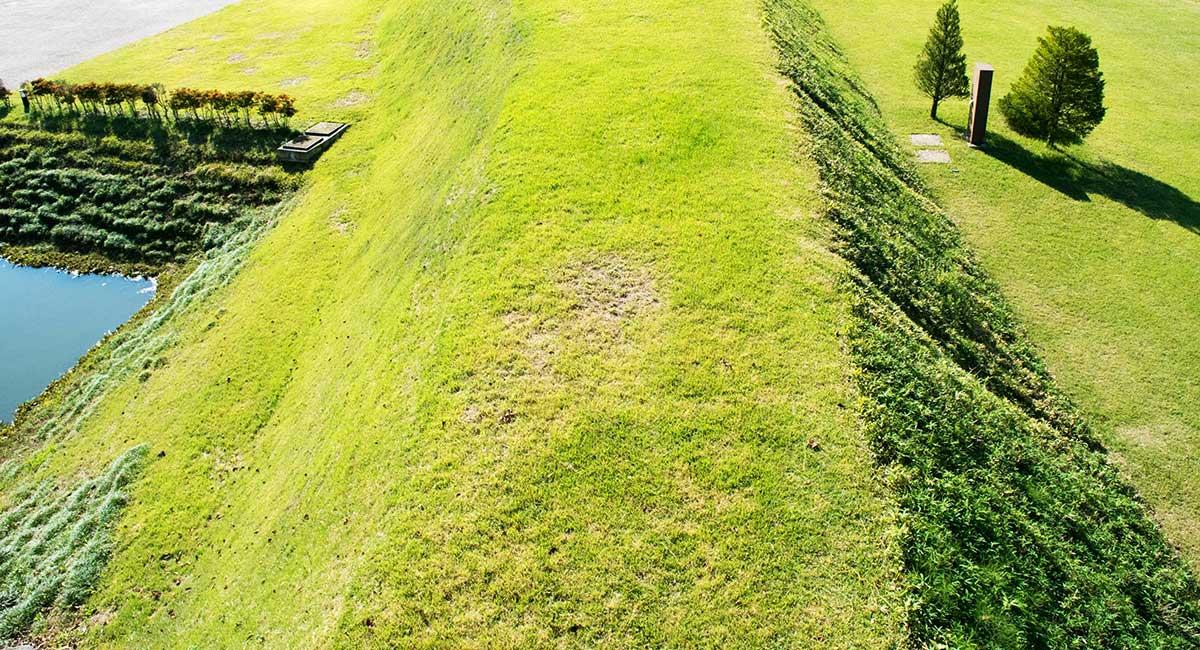 松代城の土塁