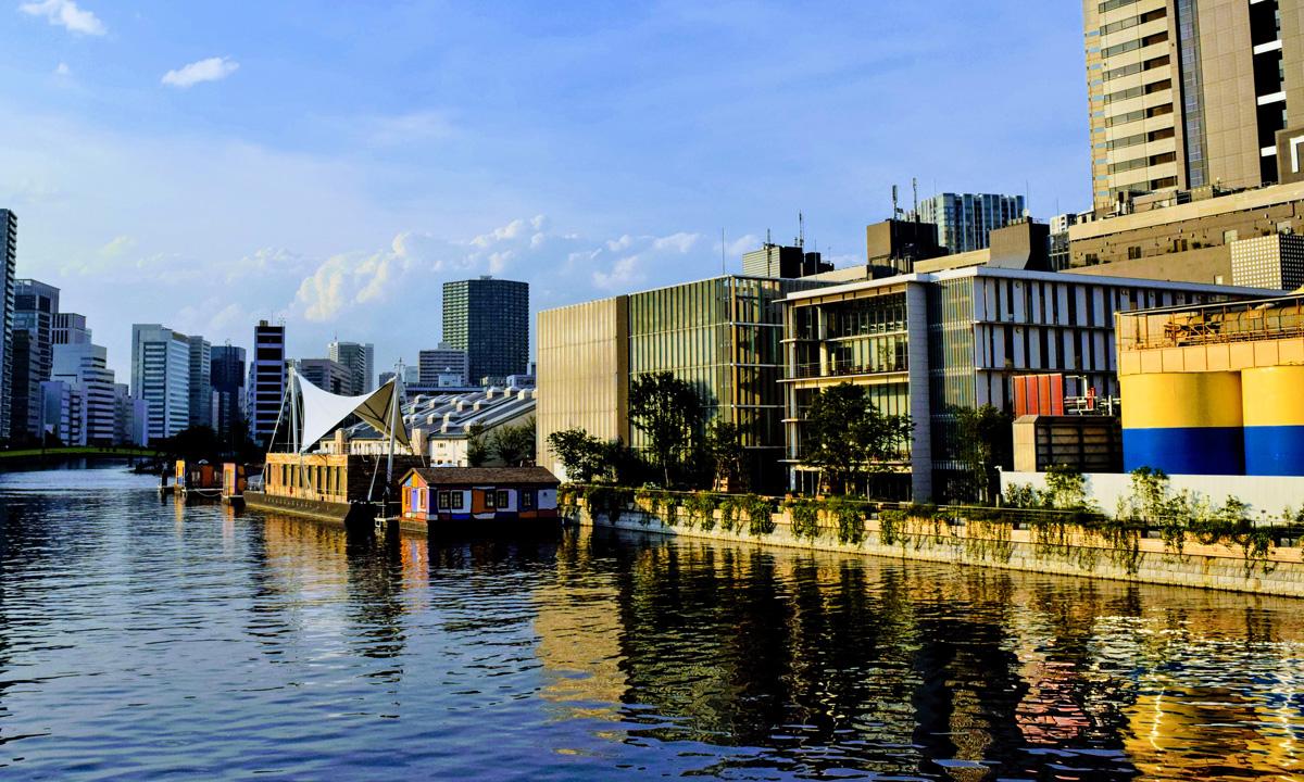 品川の運河
